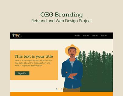 OEG ReBrand & Site Design
