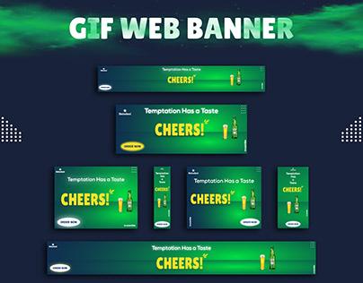GIF Animation Web Banner Design