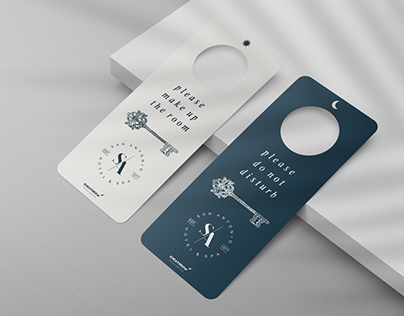 Door Handle Signage Mock-Ups Vol.1