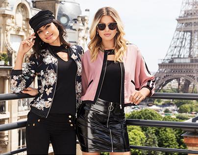 PARIS A/W -17 Fashionshoot