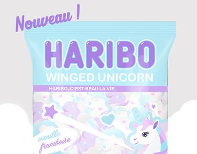 Winged unicorn - HARIBO -