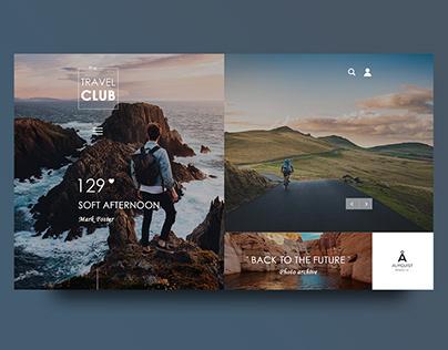 Photo Gallery Travel Club concept design