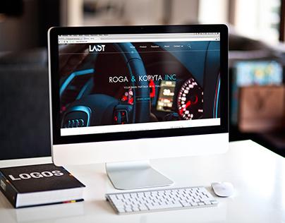 Responsive web-design for business company