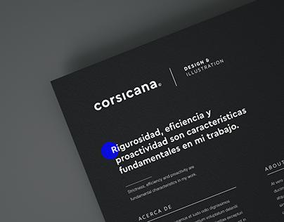 Corsicana ©   Branding update