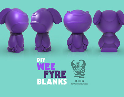 Martian Toys Blank Toy Contest - 'Wee Blanks'