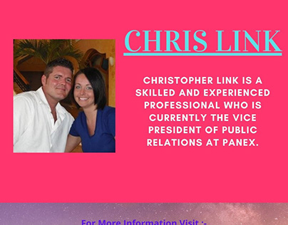 Chris Link-Vice President of Public Relations for Panex