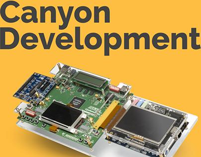CANYON DEV | Electronic company Web Design