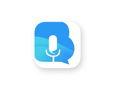 App Icon created for a conversation translator app
