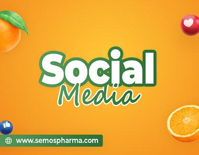 Social Media Designs for Semos Pharmaceuticals!