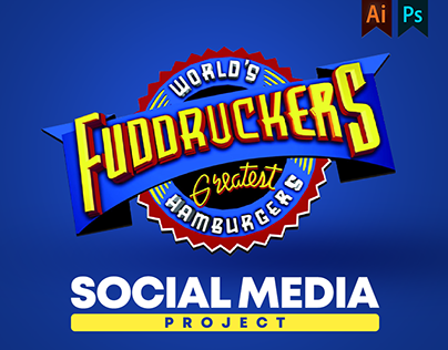 Fuddruckers Social media Project