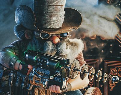 The Laser Cowboy