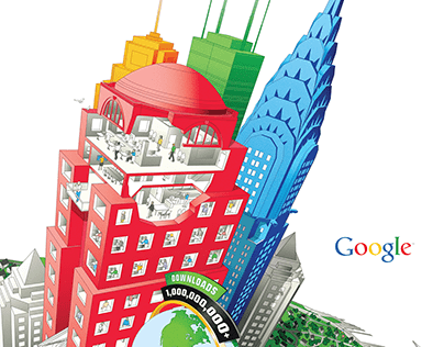 Google Earth Poster