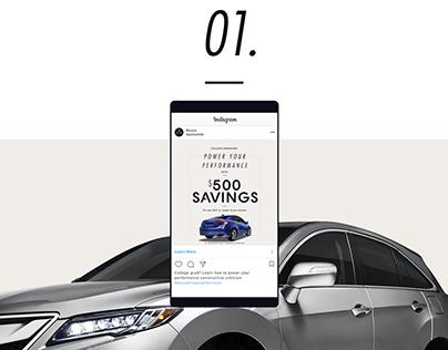 Social videos for Acura