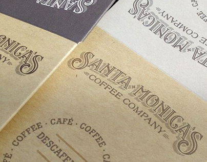 coffee PACKAGING - Santa Monica's