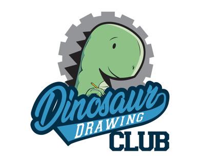 "LOGO/BRANDING - ""DINOSAUR DRAWING CLUB"""