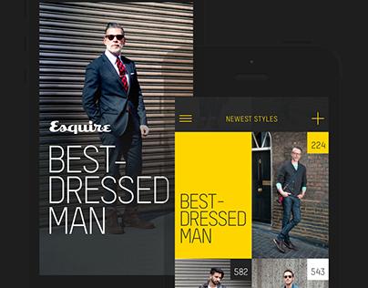 Best Dressed Man Platform - Esquire