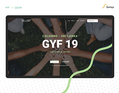 GYF 19 - Event Web Design