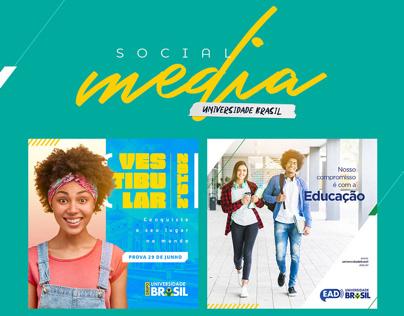 Universidade Brasil Social Media