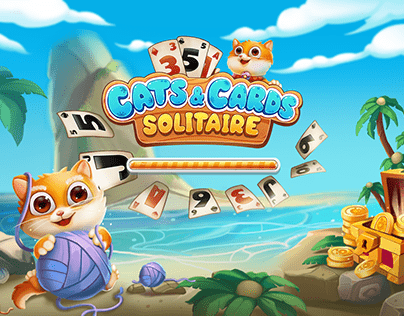 Cat&Cards Solitaire Game