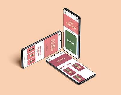 CBD Social Rebrand - UI/UX Case Study