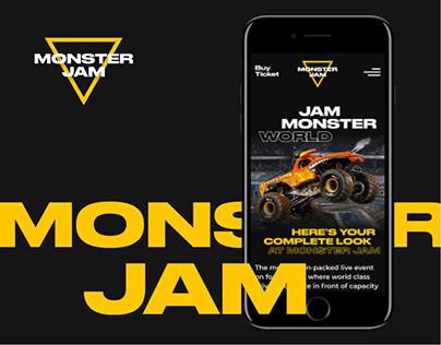 MonsterJam — Website Project '20
