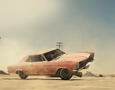 Cinematic car test