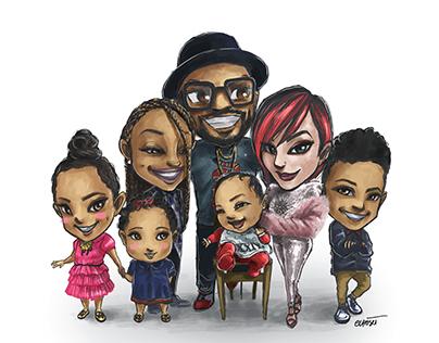 Family Portrait Commission 2017