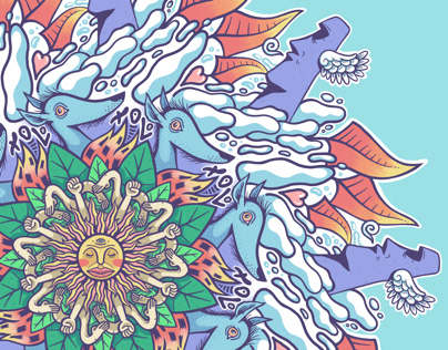 Doodle Mandala 05