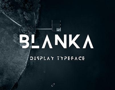BLANKA — Free font