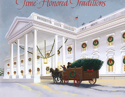 White House Holiday Tour Book