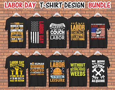 Labor Day Unique T-shirt Design Bundle