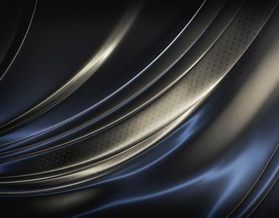 Dark Brushed Metal Surface