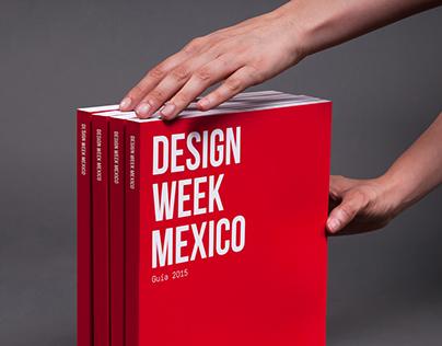 Guía Design Week México