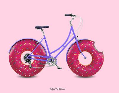 Minimalist Food Bike