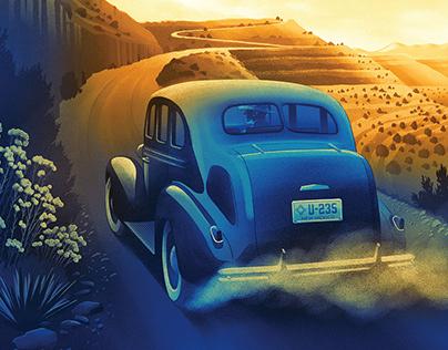 Los Alamos 75th Anniversary Illustration