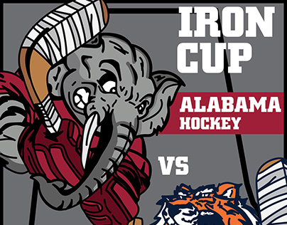 Alabama Hockey Game Posters