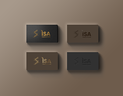 ISA Fabrications Logo & Branding