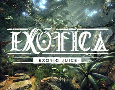 E X Ó T I C A | Peruvian exotic juice brand