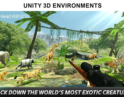 Unity 3D Environments Using in built Tools