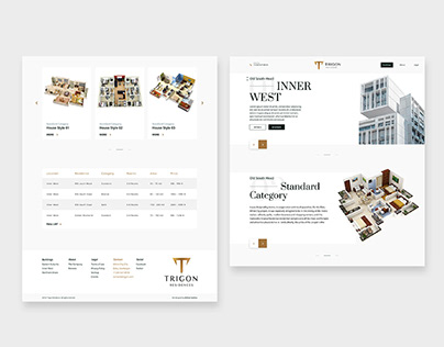 TRIGON RESIDENCES / Branding & Website design