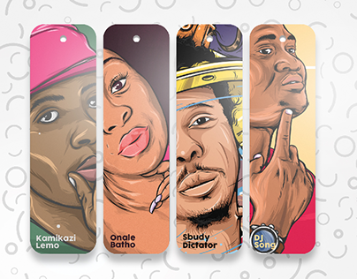 Bookmarks: Digital Illustrations