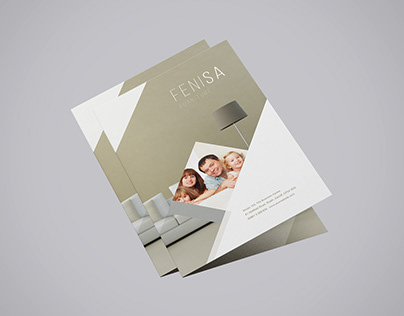A4 Bifold Brochure Mockup (Free)
