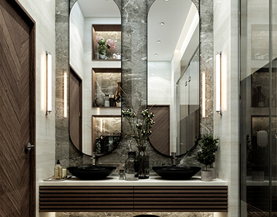 VESTIAIRE (SWIIMING POOL BATHROOM)