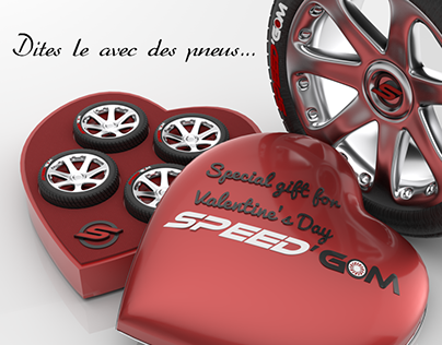 Valentine's Gift Say it with tires