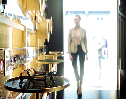 Optician's store design concept