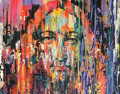 """SALVATOR MUNDI"" Artwork inspired by Leonardo da Vinci"