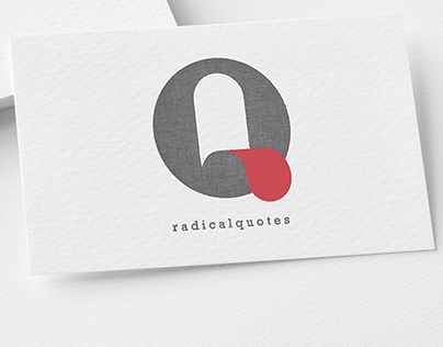 Q shaped logo