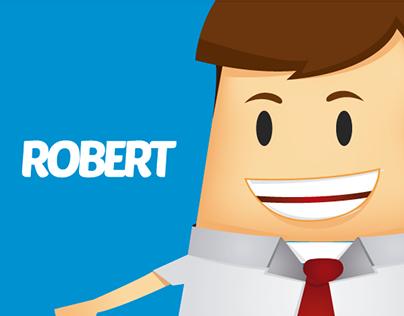 Vetor - Illustrator - Robert Business man