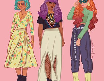 Wild Fashion Choices
