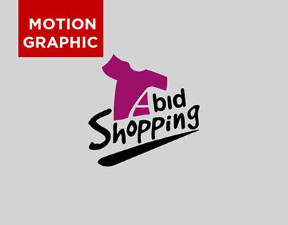 Abid Shopping ( Motion graphics )